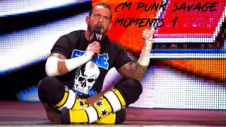 Download WWE CM Punk savage moments Video