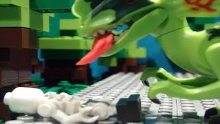 Download Lego Jurassic world Brickfilm - Dinosaur breakout Video
