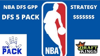 Download NBA GPP Strategy I used to place 8th of 8823 on Draftkings Video