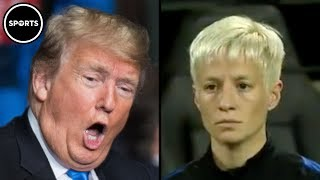 Download Female Soccer Star Says 'F*** YOU' To Trump Video