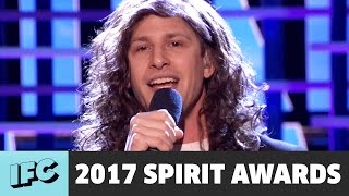 Download Andy Samberg Sings 'Still Alive' as Eddie Vedder | 2017 Spirit Awards Video
