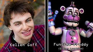 Download Five Nights at Freddy's: The Entire Voice Cast Video