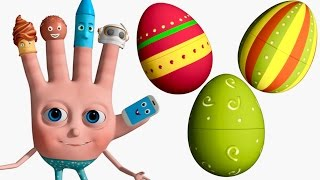 Download VeeJee Surprise Eggs Finger Family Videos | 3D Surprise Eggs Nursery Rhymes Video