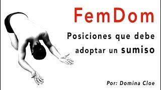 Download FemDom - Posturas del sumiso ante su Ama Video