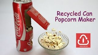 Download How to Make a Recycled Can Popcorn Machine Video