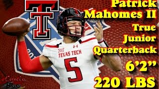 Download Patrick Mahomes II: 2017 NFL Draft Prospects 101 Series Video