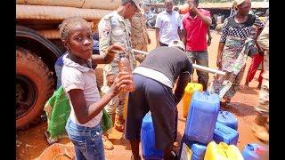 Download Campagne médicale et de distribution d'eau potable à Bangui Video