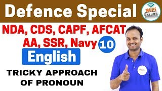 Download 11:00 PM - Defence Special English by Sanjeev Sir | Day #10 | TRICKY APPROACH OF PRONOUN Video