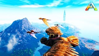 Download ARK SURVIVAL: GIVE ME WINGS! I WANT TO FLY! - ARK SCORCHED EARTH MOD (Ark FUNNY MOMENTS) Video