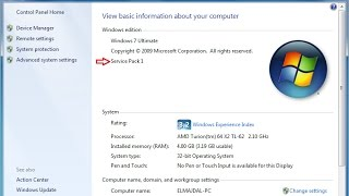 Download How to install service pack1 in windows7 in hindi. Video