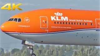 Download Planespotting @ Schiphol Airport l Incl. KLM 'Orange Pride' , Boeing 777-300ER, PH-BVA l 4K 2016 Video