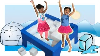 Download Don't Break The Ice game! Family Fun Board Game for Kids with Egg Surprise Toys Video