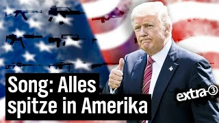 Download Alles spitze in Amerika - Ein Song für die USA | extra 3 | NDR Video