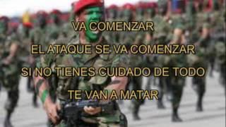 Download TOQUE MILITAR MEXICANO ATAQUE CON LETRA Video