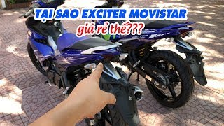 Download Tại sao Exciter 150 Movistar 2017 giá rẻ như GP và nhiều thế? Video