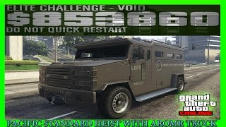 Download GTA 5 Pacific Standard Heist Glitch With Armored Truck (NEW METHOD) Video
