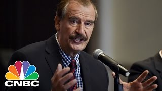 Download Vicente Fox On Donald Trump's Wall: First Loser Will Be The US | Power Lunch | CNBC Video