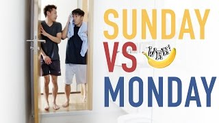 Download Sunday vs Monday Video