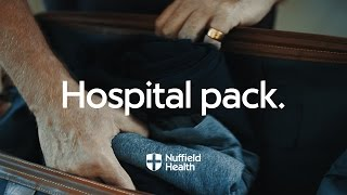 Download What to Take for an Overnight Stay in Hospital | Nuffield Health Video