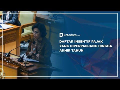 Daftar Intensif Pajak yang Diperpanjang Hingga Akhir Tahun | Katadata Indonesia