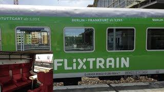 Download Flixtrain Berlin Stuttgart: Vorstellung und Mitfahrt von Berlin bis Fulda Video