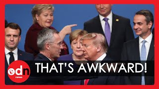 Download 7 Awkward Moments you Missed from the NATO Summit in London Video