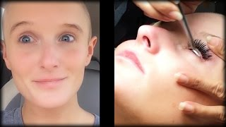 Download What It's Like Getting Professional Eyelash Extensions Video