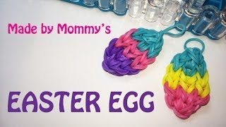 Download Rainbow Loom Charms: Easter Egg on the Loom Video