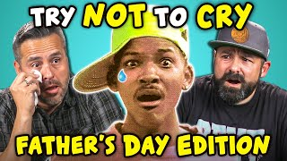 Download Dads React To Try Not To Cry Challenge (Father's Day) Video