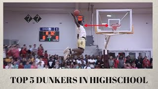 Download THE TOP 5 DUNKERS IN HIGH SCHOOL!!!! Video