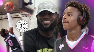 Download Bronny James PLAYS JUST LIKE LEBRON! Miami Tourney FULL HIGHLIGHTS! Video