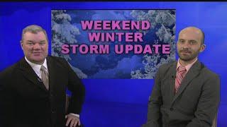 Download Weekend Winter Storm Update - Wednesday Video