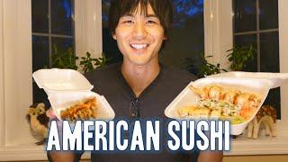 Download Jun tries American sushi! Video