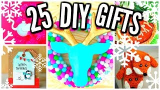 Download 25 DIY Christmas Gift Ideas! Cheap & Easy! Video