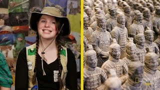 Download China's Terracotta Warriors | Nat Geo Kids Archaeology Playlist Video