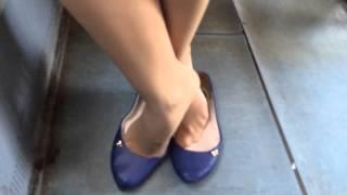 Download shoeplay in ballet flats Video