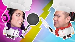 Download ITS A COOK OFF! - Overcooked - Husband vs Wife Rematch! Video