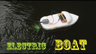 Download How to make an Electric Boat very easy | Making toy Video