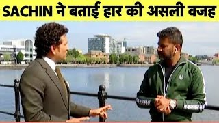 Download Sachin EXCLUSIVE: Sachin Questions Dhoni Batting at No 7 After India's Semis Loss | Vikrant Gupta Video