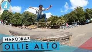 Download Como mandar Ollie alto pulando obstáculos Video