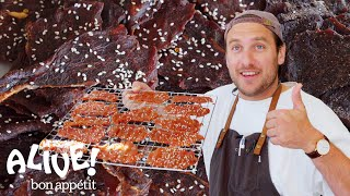 Download Brad Makes Beef Jerky | It's Alive | Bon Appétit Video