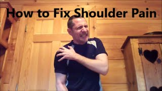 Download How to Cure Your Shoulder (Tendonitis, Bursitis, Impingement) Video