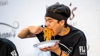 Download World Pasta Eating Championship (World Record Broken) Video