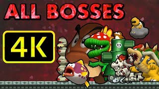 Download All Bosses in 4k 60FPS   New Super Mario Bros DS Video