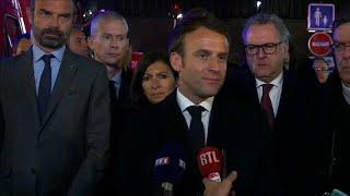 Download Macron turbato promette: ″Ricostruirenmo Notre Dame″ Video