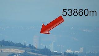 Download Super zoom sur Lyon Part-Dieu depuis St-Étienne : 53860m Video