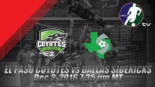Download El Paso Coyotes vs Dallas Sidekicks Video