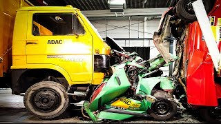 Download CRASHES - Car VS Truck - INSANE Interior Crash Tests Accident || SAFETY MUST SEE Video