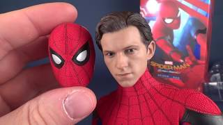 Download UNBOXING | Hot Toys Spider-man Homecoming Spider-man Sixth Scale Figure Video