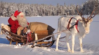Download Weihnachtsmann Video für Kinder: Aufbruch des Weihnachtsmanns - Lappland Finnland - Weihnachtsmann Video